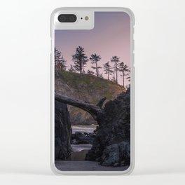 Secret Tide Pool Entrance Clear iPhone Case