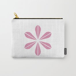 Pink on White Cathrineholm Carry-All Pouch