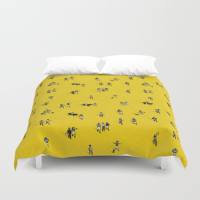 Going Places Duvet Cover