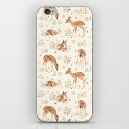 Wildflower Fawn iPhone Skin