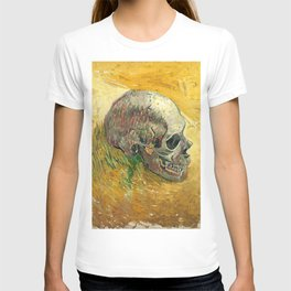 Skull by Vincent van Gogh, 1887 T-shirt