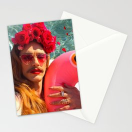 Selfies By The Pool James Franco Fan Art Stationery Cards