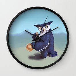 Monster of the week: Tufted Owl Beast Wall Clock