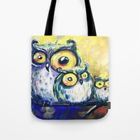 family Tote Bags featuring family by Katja Main