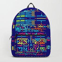 """""""Glitch"""" series #10 Backpack"""