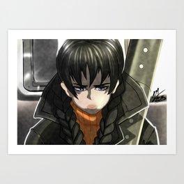 The Last Train Art Print