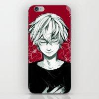 viria iPhone & iPod Skins featuring Kaneki by viria