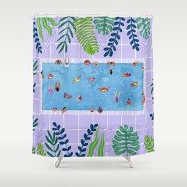 Purpool Shower Curtain
