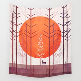 Silent Forest Wall Tapestry