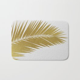 Palm Leaf Gold I Bath Mat