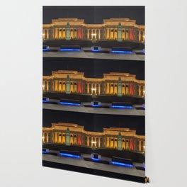 Auckland Museum at Night Wallpaper