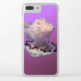 Purple Drifter Clear iPhone Case