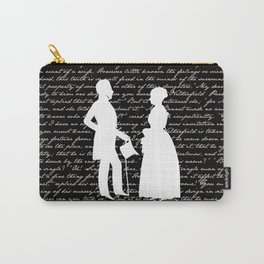 Pride and Prejudice design Carry-All Pouch