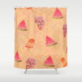 Sweet Treats Shower Curtain