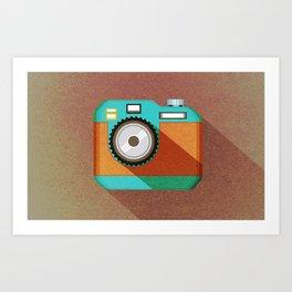Camera 2.1 Art Print