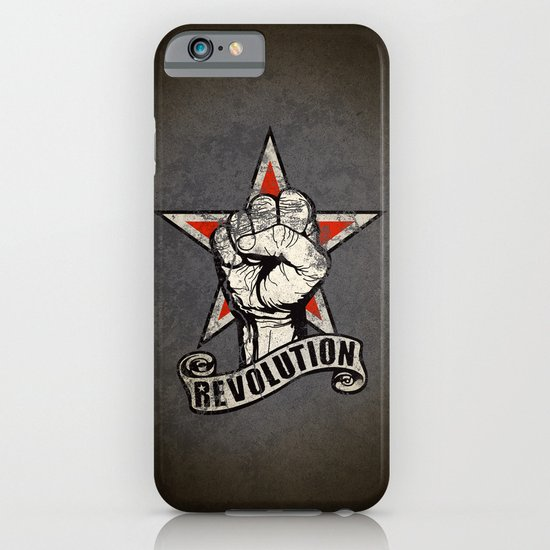Up The Revolution! iPhone & iPod Case