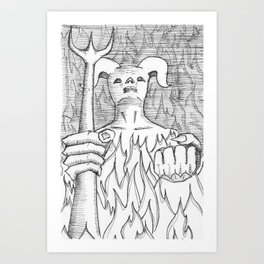 Devil in the Detail Art Print