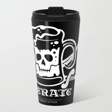 Beerate Metal Travel Mug