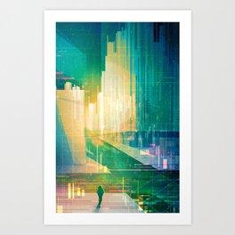 Pace Art Print