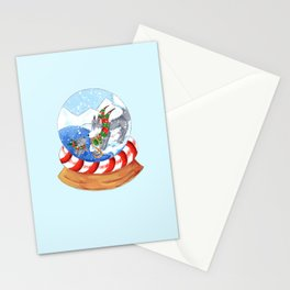 Polar Surprise Stationery Cards