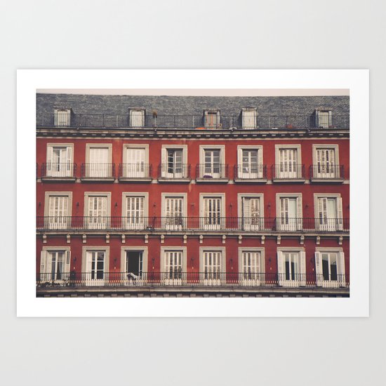 Plaza Mayor Art Print