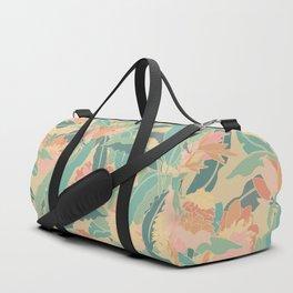 Hawaiian Ginger Floral in Sorbet Duffle Bag