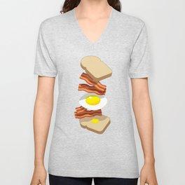 Bacon Sandwich Unisex V-Neck