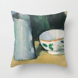 Bowl and Milk-Jug Throw Pillow