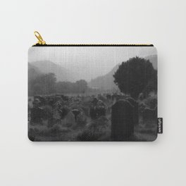 Foggy Graveyard... | Halloween Art | Carry-All Pouch