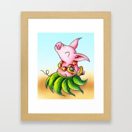 Dinner Dancer Framed Art Print