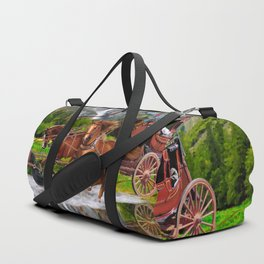 Wells Fargo Stagecoach Duffle Bag
