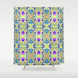 Organic Worlds Shower Curtain
