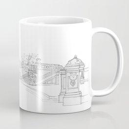 Belvedere Fountain, Central Park, NY Coffee Mug