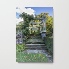 The Secret Garden Metal Print