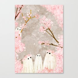Cherry Blossom Party Canvas Print