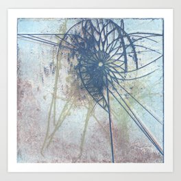 Whir Art Print