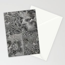 Optic kinetic art Stationery Cards