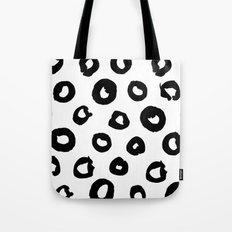 Brush circle love Tote Bag