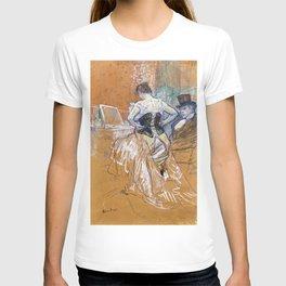 Henri Toulouse Lautrec / Augustins - Conquête de passage 1896 T-shirt
