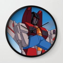Starscream the Sky Commander Wall Clock
