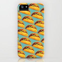 Taco Pattern iPhone Case