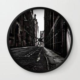 China Lane MANchester Wall Clock
