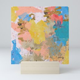 An Abstract Feeling Mini Art Print