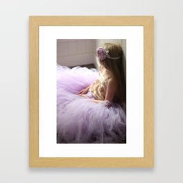 Lavender Love Framed Art Print