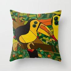 Twocans Throw Pillow