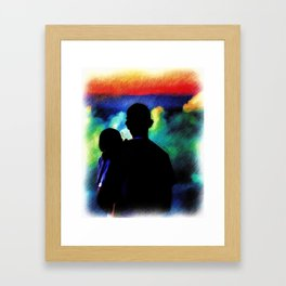 A Father's Love Framed Art Print