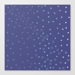 Star Fall Canvas Print