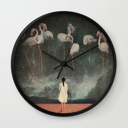 Hanging on to a Dream Wall Clock