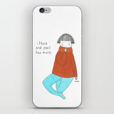 too much iPhone Skin