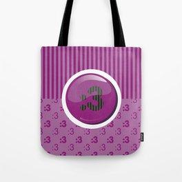 Purple Writer's Mood Tote Bag